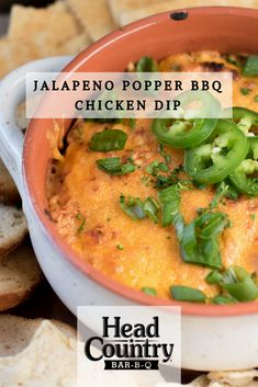 Jalapeno Popper BBQ Chicken Dip | Best Appetizer Recipes | Best Cheesy Spicy Dip