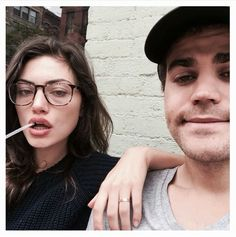 Is Phoebe Tonkin of The Originals engaged or even married to Vampire Diaries actor Paul Wesley? Phoebe fuels speculation with photo wearing gold band. Paul Wesley Phoebe Tonkin, Paul And Phoebe, The Vampire Diaries, Vampire Diaries The Originals, National Best Friend Day, Garance, Dane Dehaan, Friends Day, Stefan Salvatore