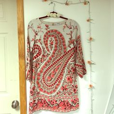Available until 1/2 I feel in love with the print & had to buy it. It unfortunately doesn't fit :( brand new without tags (I have another dress similar style different print if you're interested I also have it listed on Poshmark) Old Navy Dresses
