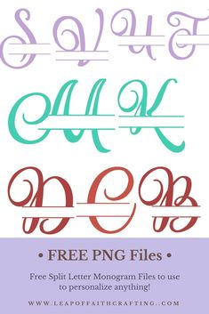 405 Best Free Cricut Fonts images in 2018 | Cool fonts, Hand