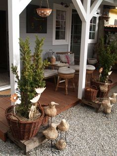 Front Porch, Countryside, Pergola, Sweet Home, Porches, Garden, Outdoor Decor, House, Home Decor