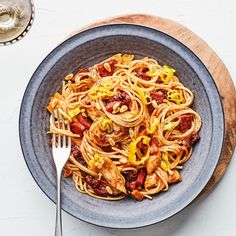 """""""Antipasto"""" Pasta with Sausage, Artichoke Hearts, and Sun-Dried Tomatoes"""
