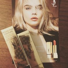 Received the stunning #YSLRougePurCouture voxbox and these lipstick look absolutely stunning! #contest (I received these free in return for an honest review)