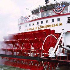 Belle of Louisville riverboat, Louisville, Kentucky