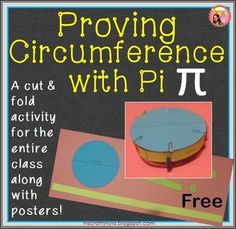 Pi Day: A proving circumference activity and Pi posters. This is a hands-on activity for using the decimal form of Pi (3.14) to compare the length of a circles diameter to its circumference. The Pi ratio can be used to lead to the rediscovery of the circumference formula.