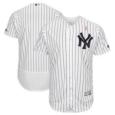 db62a58bd8f Men s New York Yankees Majestic White 2018 Mother s Day Home Flex Base Team  Jersey