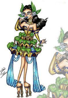 Elephant Wall Art, Princesses, Character Design, Artsy, Wonder Woman, Princess Zelda, Superhero, Illustration, Fictional Characters