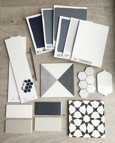 """""""Working on a big client presentation today. We are liking what we see so far! Sherwin Williams Snowbound, Mood Board Creator, Metro White, Mood Board Interior, Concept Board, Creating A Brand, Decoration, Color Inspiration, Paint Colors"""