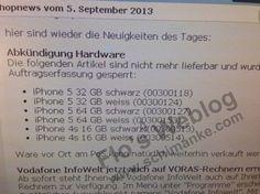 El iPhone 5 de 16GB Podría Mantenerse cuando Salgan los nuevos iPhone