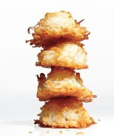 Coconut Macaroons - simple recipe, they hold their shape really well