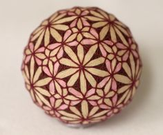 TEMARI BALLS were first childrens toys, now given as a token of respect and/or gift