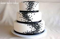 wedding cupcakes black & white - Google Search