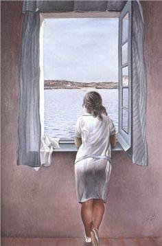 Figure at a Window - Salvador Dali