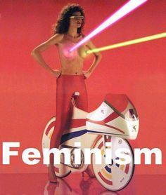 Feminism. pew pew!