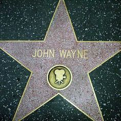 Hollywood Walk of Fame - John Wayne