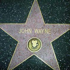Hollywood Walk of Fame - John Wayne
