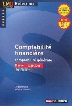 Présentation de la comptabilité financière de l'entreprise, depuis sa création jusqu'à l'établissement de ses comptes annuels. Cette édition intègre l'état le plus récent du droit et des normes comptables et du droit fiscal.