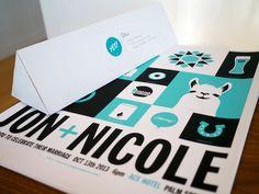 The 25 winners of the print celebrates design competition design wedding invitation design by jon jackson stopboris Gallery