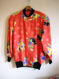 Jacket mit Blumen