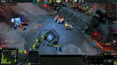 DOTA 2 - An Army of Couriers! [Funny Moment]