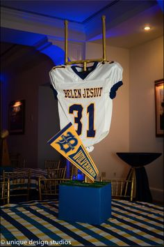 Football, Homecoming Centerpieces