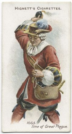 Arms & Armour - 40 - A grenadier - 1665. Time of Great Plague.