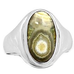 Ocean Jasper 925 Sterling Silver Ring Jewelry s. OCJR121