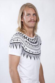 nils hvit t-skjorte | Lopi