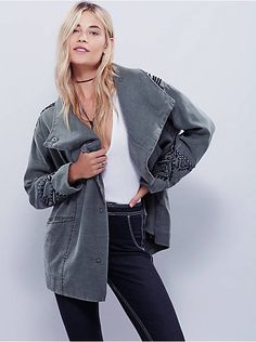 Free People Up the Mountain Cocoon Coat, $298.00