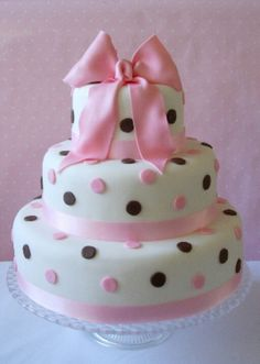 Dots for a baby cake