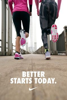 Better starts today. Improve your pace, increase distance, and get the motivation you need to run farther faster with the Nike+ Running app. Download now on the App Store and Google play.