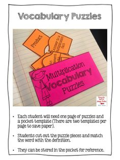 Multiplication Interactive Notebook for grades 2-4.