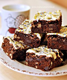 ciasto bardzo czekoladowe z orzechami