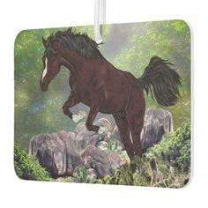 Mahogany Bay Horse Jumping Air Freshener