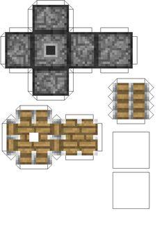 The Minecraft Blog Origami cakepins.com