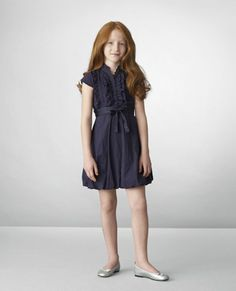 Benetton Kids-this could be a school uniform dress for Caroline