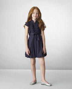 Benetton Kids-this could be a school uniform dress for Caroline