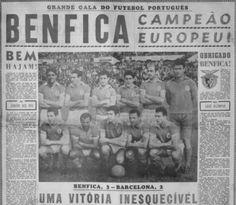 """Edição de """"A Bola"""" (1 de Junho de 1961), depois de o Benfica vencer a Taça dos Campeões Europeus"""