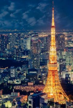 castelnou: tokyo tower Japan