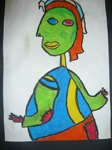 cubisme portrait