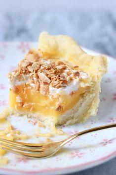 Gluten-Free Vegan Lemon Pie