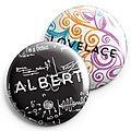 Genius Series Pins - Albert/Lovelace