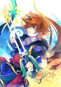 Kingdom Hearts Sora 2 Apple iPhone 7 Plus Case Cover Final Fantasy, Video Game Art, Video Games, Sora Kingdom Hearts 3, Kindom Hearts, Pokemon, Vanitas, Game Character, Memes