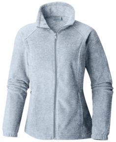 1c698a9d95 Columbia Petite Benton Springs Fleece Jacket - Gray PXL Columbia Jacket