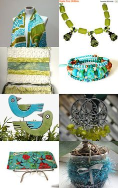Happy Colors by Ildi on Etsy--Pinned with TreasuryPin.com