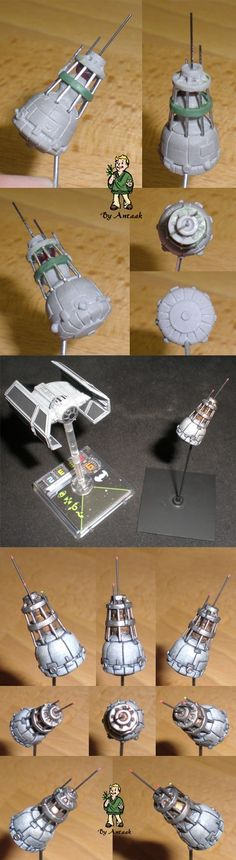 Star Wars - X-Wing Satellite