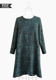 Farrow Dress PDF - Grainline Studio