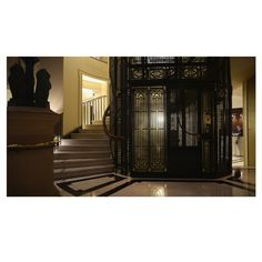 There is architectural detail aplenty @intercontinentalsydney. This is the oldest & possibly most romantic cage elevator in the Southern Hemisphere.  #intercontinentallife #architecture #ilovesydney  #seeaustralia