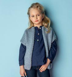 Knitting For Kids, Knitting Projects, Free Pattern, Knit Crochet, Couture, Denim, Sweaters, Jackets, Women