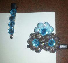 Blue Rhinestones by FrankieBeanz on Etsy, $3.99